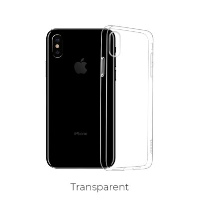 Чехол hoco Light series TPU  iPhone XR - Прозрачный