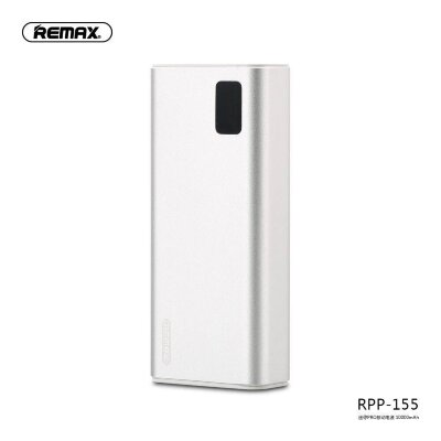 Power Bank REMAX Mini Series 10000mah RPP-155 - Silver