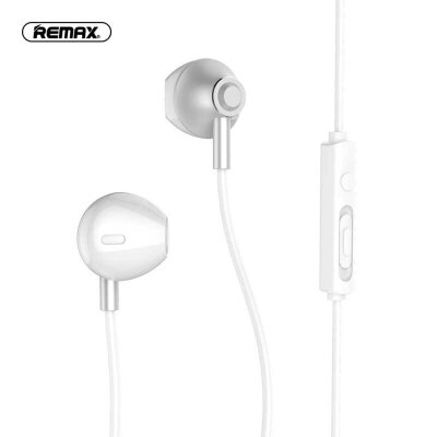 Наушники REMAX Wired Earphone RM-711 - Silver
