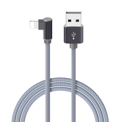 Кабель Borofoen BX12 FreeJet USB Cable – Lightning - Серый