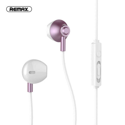 Наушники REMAX Wired Earphone RM-711 - Rose Gold