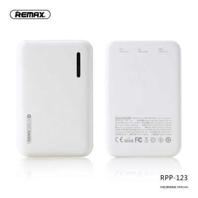 Power Bank REMAX Linon 2  RPP-123 5000mAh - White