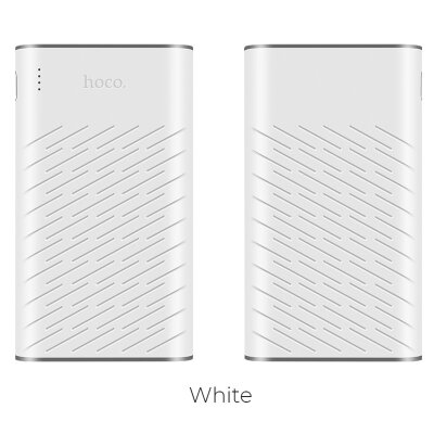 Power Bank hoco B31 Rege 20000mAh - Белый