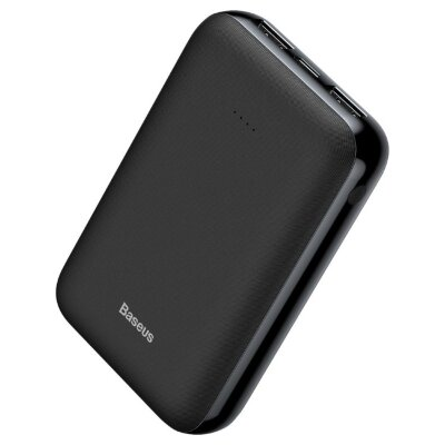Внешний аккумулятор Baseus Mini JA power bank 10000mAh (PPJAN-A01) - Black