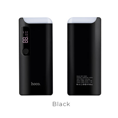 Power Bank hoco B27 15000mAh Pusi - Черный