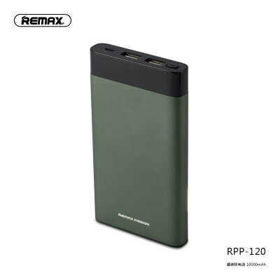 Power Bank Remax Renor Series 10000mah RPP-120 - Green