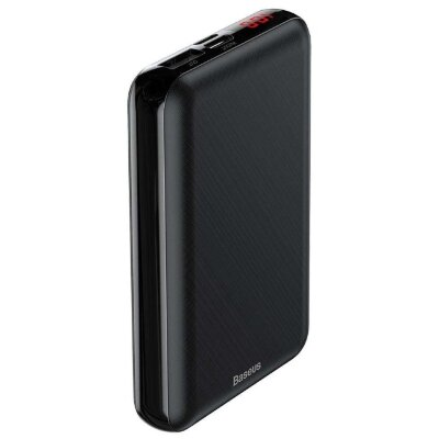 Внешник аккумулятор Baseus Mini S Digital Display Power Bank 10000mAh (PPALL-XF01) - Black