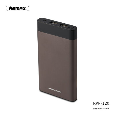 Power Bank Remax Renor Series 10000mah RPP-120 - Grey