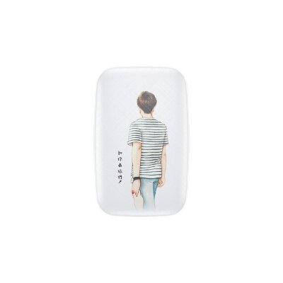 Внешний аккумулятор Baseus Mini Q Power Bank 10000mAh For Boy (PPM25-NH02) - White