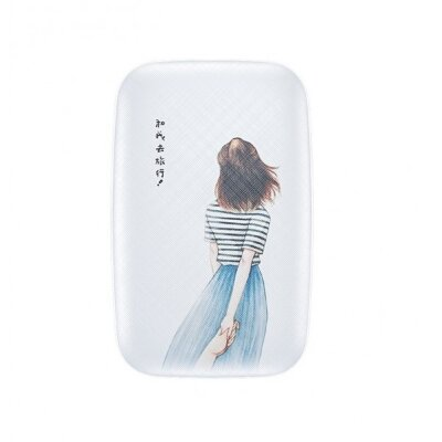 Внешний аккумулятор Baseus Mini Q Power Bank 10000mAh For Boy (PPM25-VH02) - White