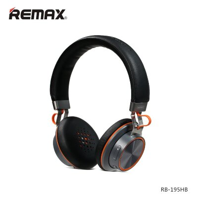 Наушники Remax Bluetooth RB-195HB - Чёрный