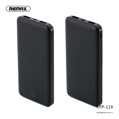 Power Bank REMAX Jane Series 10000mah RPP-119 - Black