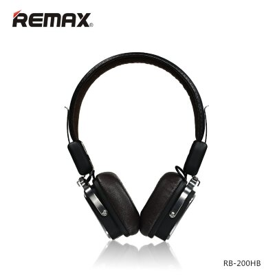 Наушники Remax Bluetooth RB-200HB - Чёрный