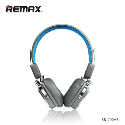 Наушники Remax Bluetooth RB-200HB - Голубой