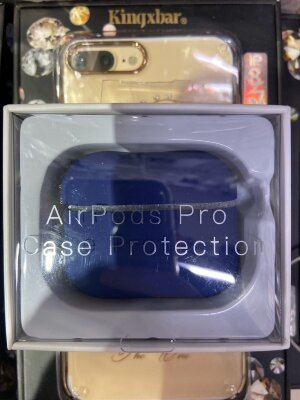 "Чехол ""Case Protection"" для AirPods Pro - Синий"