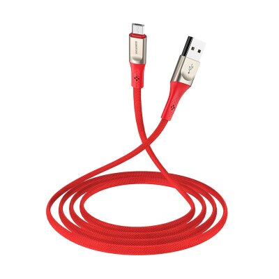 Кабель Borofone Cable USB to Micro-USB BU7 Superior - Red