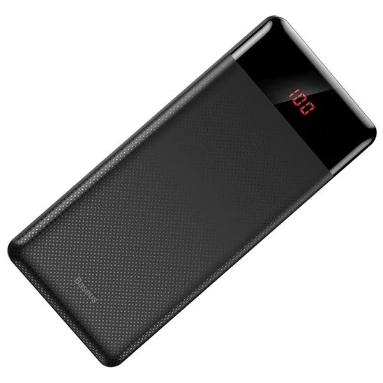 Внешний аккумулятор Baseus Mini Cu Digital Display Power Bank 10000mAh (PPALL-AKU01) - Черный
