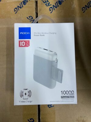 Power Bank Rock P51 mini 10000mAh - White