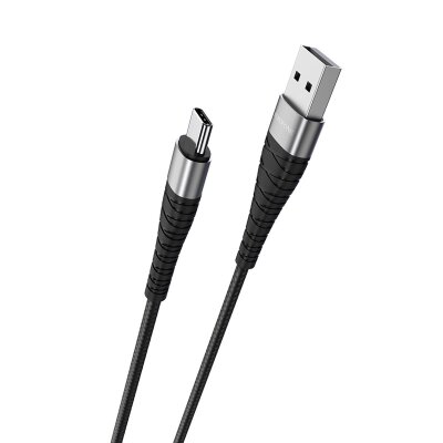 Кабель Borofone BX32 Munificent charging data cable for Type-C - Black