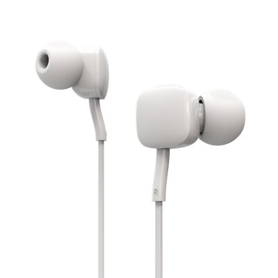 Наушники Borofone Wired earphones BM34 Intelligent - White