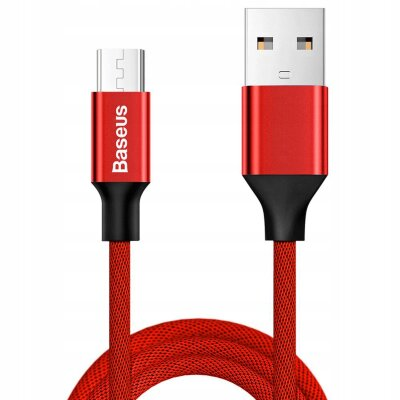 Кабель Baseus Yiven Cable For Micro 1M (CAMYW-A09) - Red