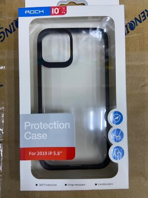 Чехол Rock Protection Case для Iphone 11 Pro - Black
