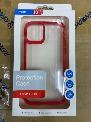 Чехол Rock Protection Case для Iphone 11 Pro - Red