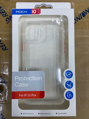 Чехол Rock Protection Case для Iphone 11 Pro - White/Red