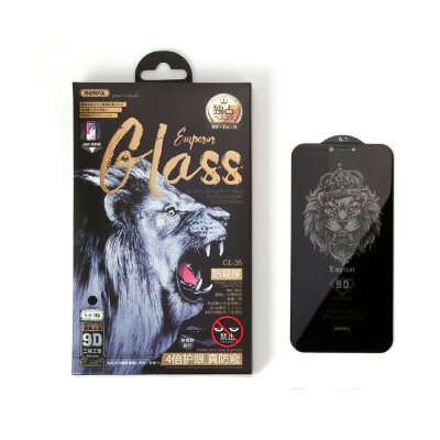 Защитное стекло Remax Emperor Anti-privacy series 9D glass for  For iPhone 7/8 GL-32 - Black