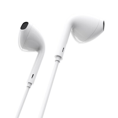 Наушники Borofone Wired earphones BM30 Original series - White