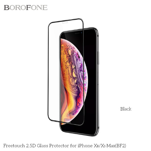 "Защитное стекло Borofone BF2 ""FreeTouch"" Glass Screen Protector for iPhone XS Max"