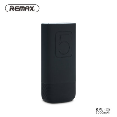 Power Bank 5000mAh Remax Flinc RPL-25 - Черный