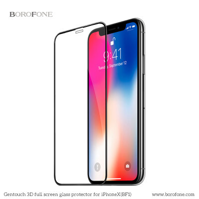 "Защитное стекло Borofone BF1 ""GenTouch"" Screen Protector for iPhone X/XS"