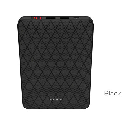 "Borofone BT9 ""MaxPower"" 20000mAh Power Bank - Черный"