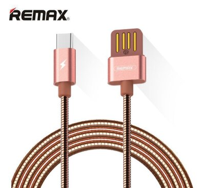 Кабель Remax Tinned Type-C RC-080a - Розовый