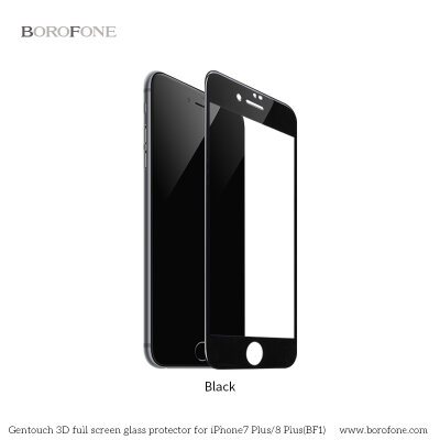 "Защитное стекло BF1 ""GenTouch"" Screen Protector for iPhone 7 Plus/8 Plus - Черное"