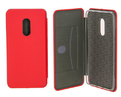 Чехол-книжка Fashion Case для Xiaomi Red Mi Note 4 Pro / Red Mi Note 4x 64Gb / Red Mi Note 4 - Красный