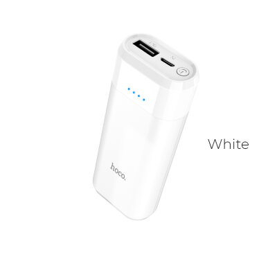 Power Bank hoco B35A Entourage 5200mAh - Белый