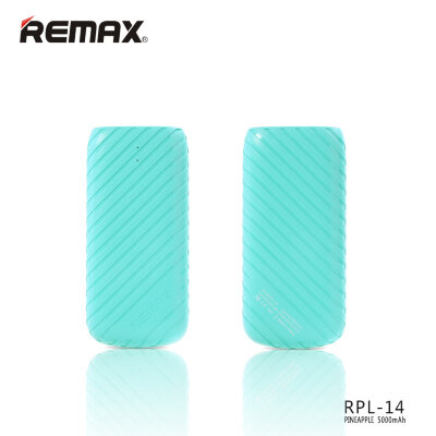 Power Bank 5000mAh Remax Pineapple RPL-14 - Бирюзовый