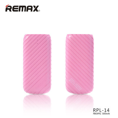 Power Bank 5000mAh Remax Pineapple RPL-14 - Розовый