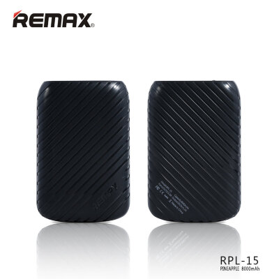 Power Bank 8000mAh Remax Pineapple RPL-15 - Черный