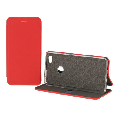 Чехол-книжка Fashion Case для Xiaomi Red Mi Note 5A 32Gb/Red Mi Note 5A 16Gb - Красный