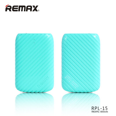 Power Bank 8000mAh Remax Pineapple RPL-15 - Бирюзовый