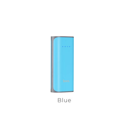 Power Bank hoco B21 5200mAh Tiny Concave - Синий