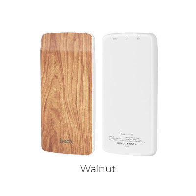 Power Bank hoco J5 8000mAh -  walnut