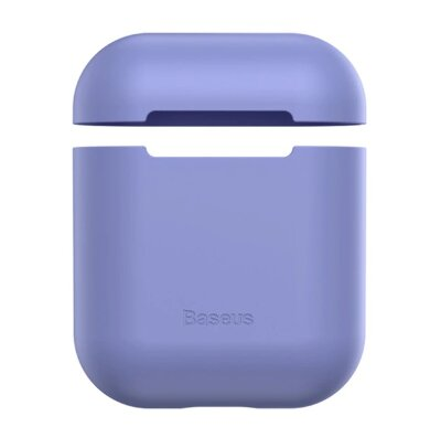 Чехол для Airpods Baseus Ultrathin Series Silica Gel Protector for Airpods 1/2 (WIAPPOD-BZ05) - Purple