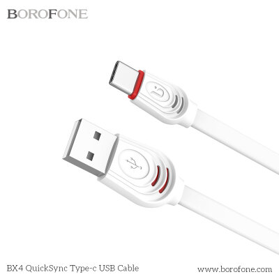 Кабель Borofone BX4 QuickSync USB Cable – Type-C - Белый